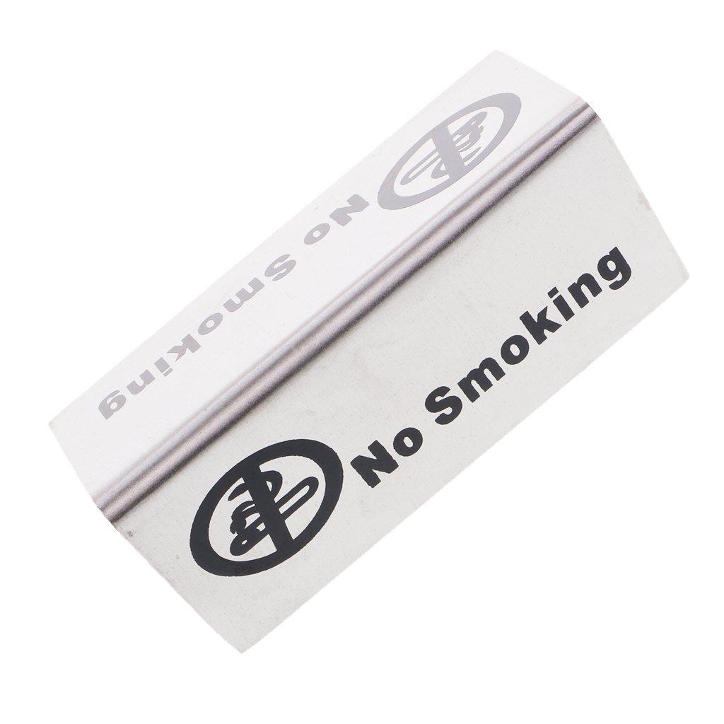 MagiDeal DoppelseitigeNo Smoking//Reserved Tischschild f/ür Restaurant//Hotel Typ 1