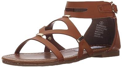 f9f4db77555 Amazon.com | Steve Madden Kids' Jcindii Flat Sandal | Sandals
