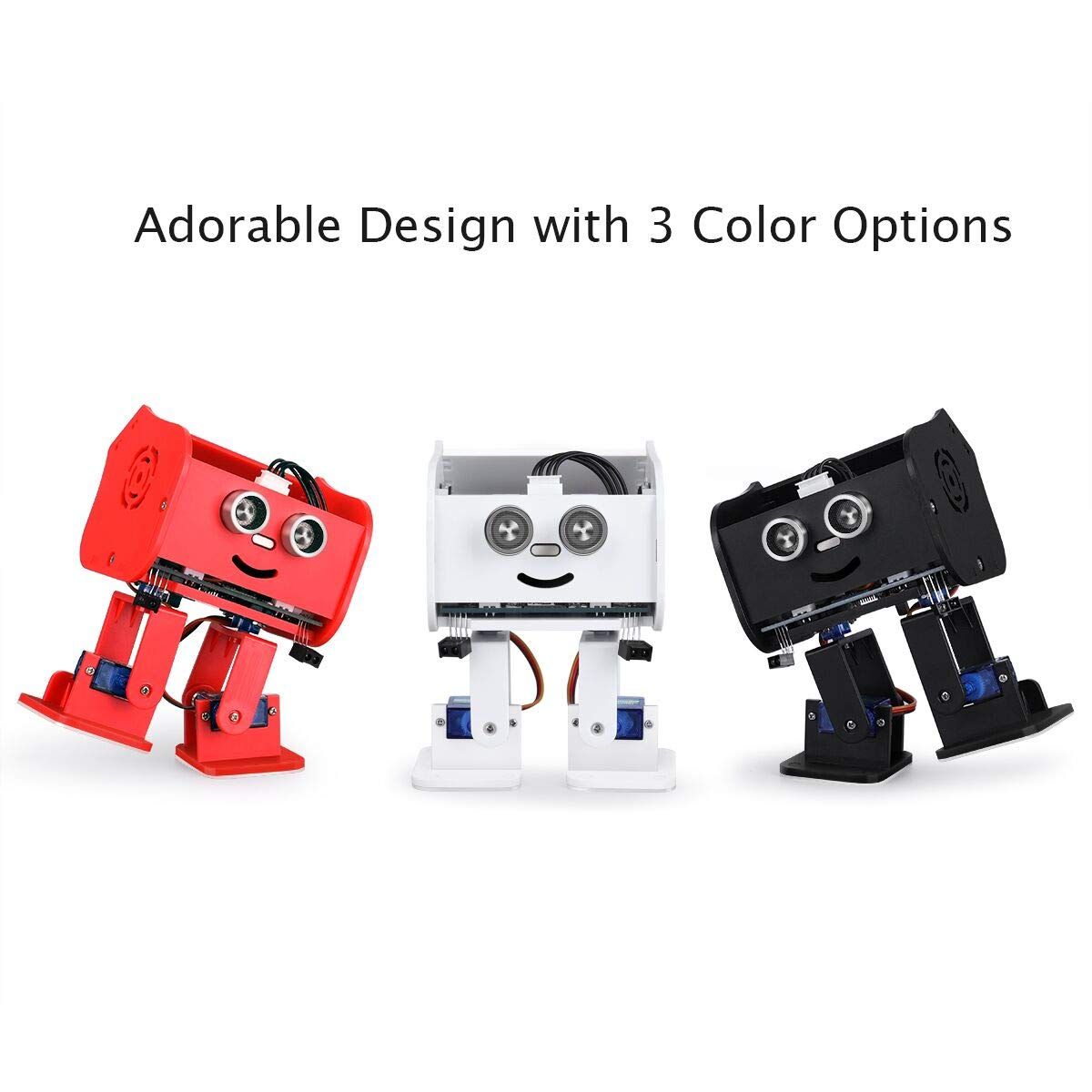 ELEGOO Penguin Bot Biped Robot Kit for Arduino Project with Assembling Tutorial,STEM Kit for Hobbyists, STEM Toys for Kids and Adults, Red Version by ELEGOO (Image #6)