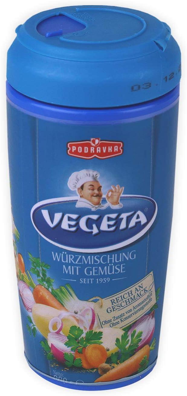 Podravka Vegeta Clásico Condimento De Alimentos 200 g Botella De ...