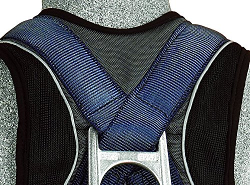 3M DBI-SALA ExoFit Vest Style Harness, Back D-Ring, Medium, 1107976 by 3M Fall Protection Business (Image #4)