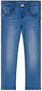 ESPRIT Kids Pants, Jeans Bambina, Blu (Medium Wash Denim 463), 116 RM2914310