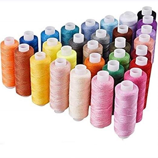 Bobinas surtidas de hilo de coser para máquina de coser, bobinas ...