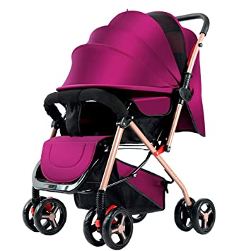 Carrito de bebé Ultra-Ligero portátil bidireccional Sentado ...