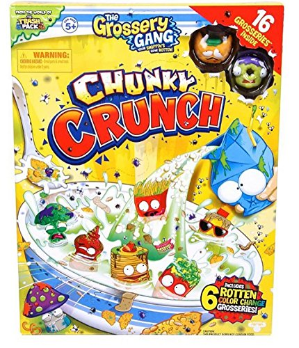 The Grossery Gang Chunky Crunch - Super Sized Pack - New Collectible 2016