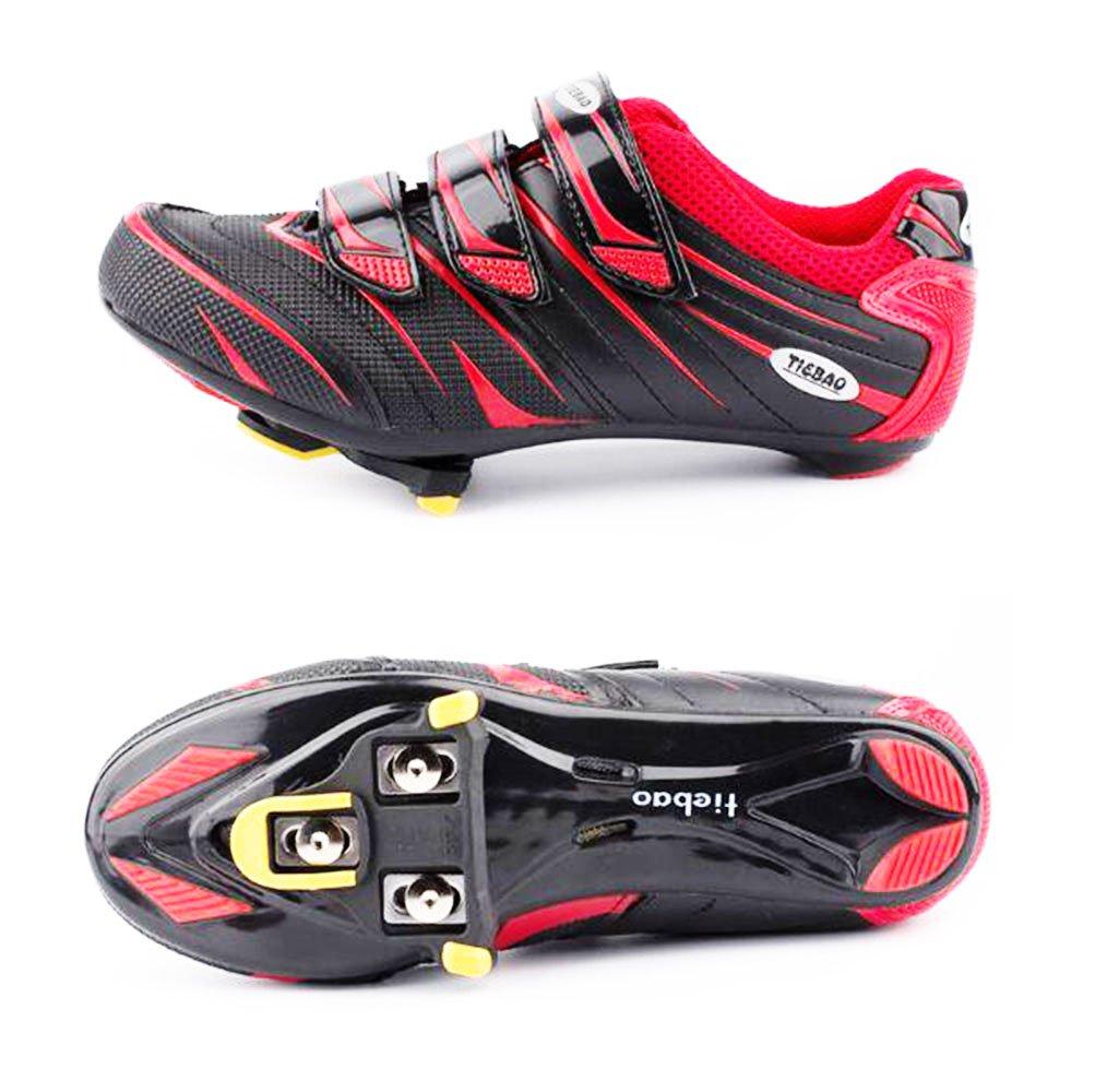 Bike Cleats 6 Degree Float Look Delta Pedals Tfwadmx Look Delta Clips RED Locking SPD Cycling Pedal Cleats for Indoor Cycling and Road Bike