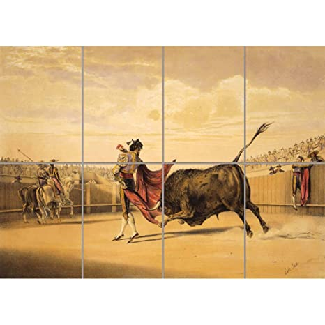 Amazon.com: Panel Art Print Paintings Deporte Corrida de ...