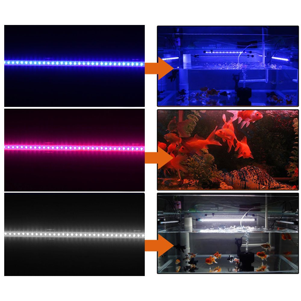 Amazon.com: Zytree(TM)New 48cm 110-240V 60 LED Aquarium LED Lighting Accesories Bright Submersible Lamp Light Bar for Fish Tank Light Decoration: Kitchen & ...