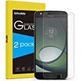 SPARIN [2 PACK] Moto Z Play Screen Protector, Tempered Glass for Motorola Moto Z Play Droid 5.5 Inch [Anti-Scratch] [Crystal Clarity], NOT Fit for Moto Z Droid, Moto Z Force