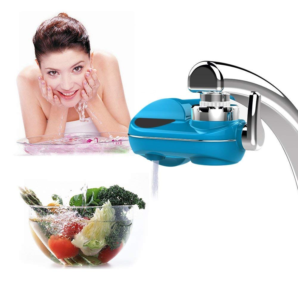 Powpro Fwat PP-JTP05 Horizontal Faucet Water Filter 5 Stages Mieral Filter Water Filter System by Powpro (Image #7)