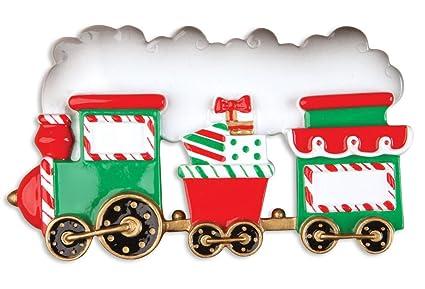 personalized christmas ornaments child choo choo train