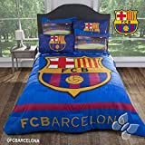 NEW CLUB BARCELONA FUTBOL SOCCER COMFORTER QUEEN