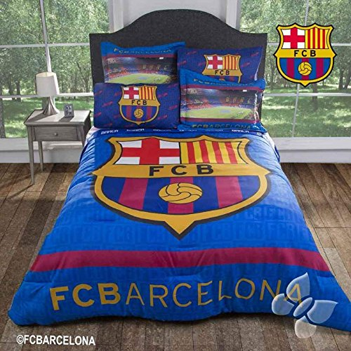 FC BARCELONA SOCCER BEDDING COMFORTER FULL by JORGE'S HOME FASHION INC