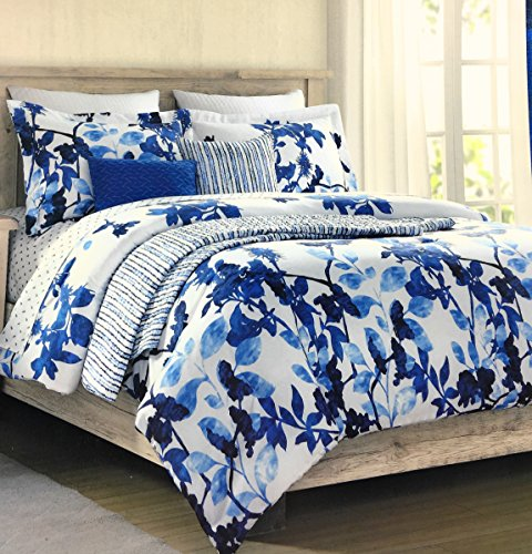 Cynthia Rowley Easy Care Polyester FULL/QUEEN Duvet Cover Set