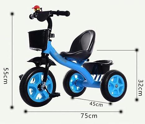 ZGP &Cochecito de bebé Triciclo para bebés, Pedal Convertible Trike Bicicleta de Empuje Bicicleta de conducción fácil Triciclo Cochecito de Juguete Mini ...