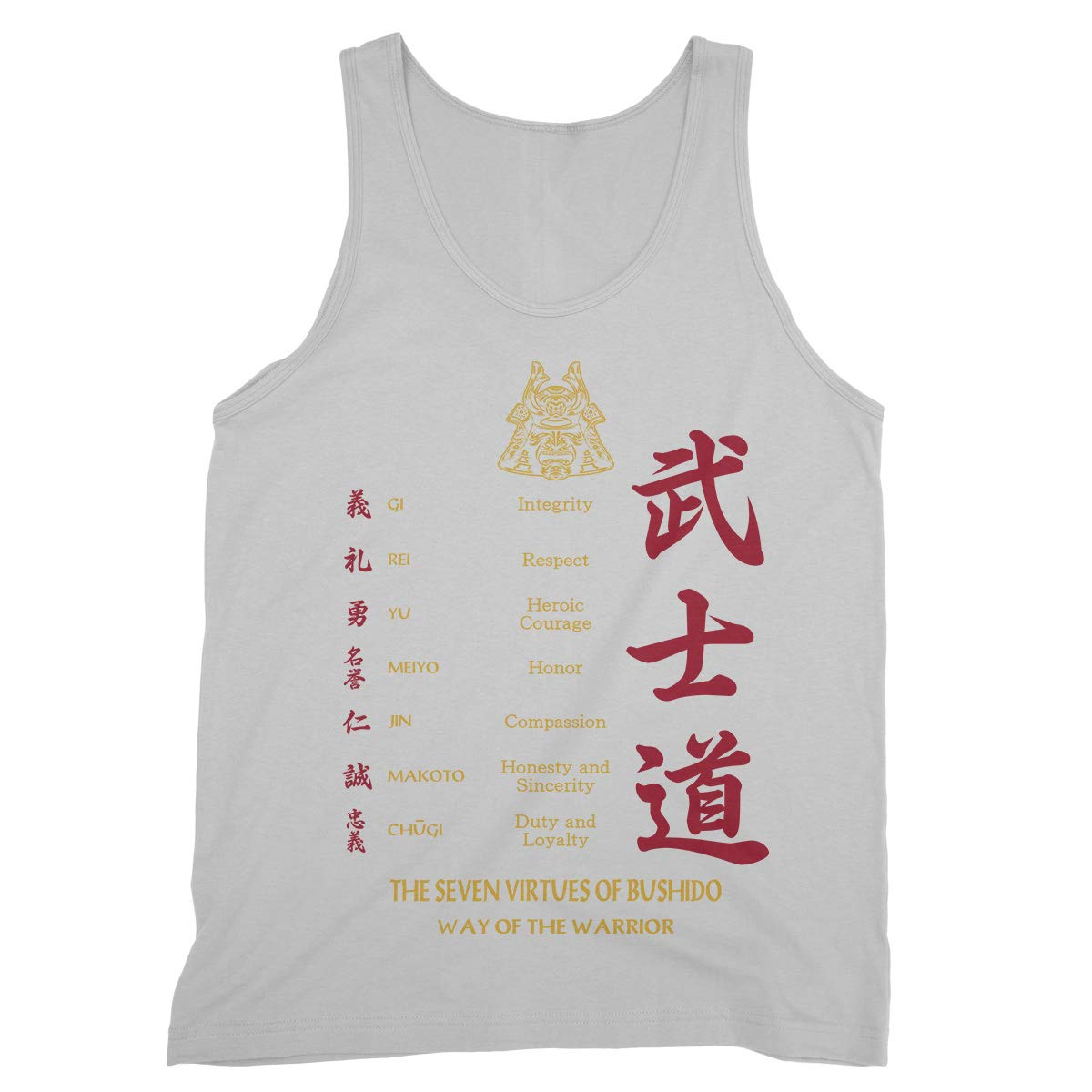 Royal Decor Collection Interrity Respect Heroic Courage Honor Honesty and Sincerity Duty and Loyalty Tank Tops