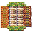 Healthy Snack Attack | Snack bar care package | 51 granola bars - Nature Valley, peanut, oats and honey, Quaker Chewy bars, office, college, road trip, variety pack