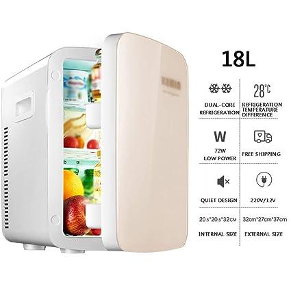 Amazon.es: WYJW Refrigerador para Autos 18 l Refrigerado, Mini ...