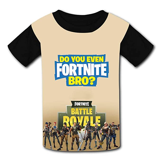 Amazon Com Fortnite Battle Royale King Kids Casual T Shirt Youth