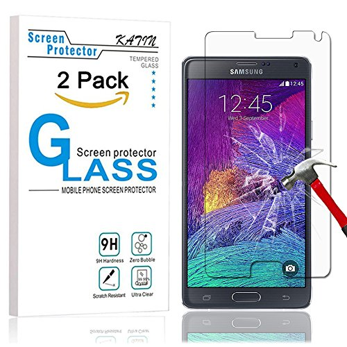 Tempered Glass screen protector for Samsung Galaxy Note 4 - 2