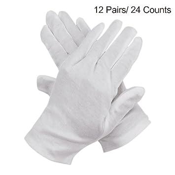 Innobase Weiß Arbeit Baumwolle Handschuhe Ideal Für Befeuchtend