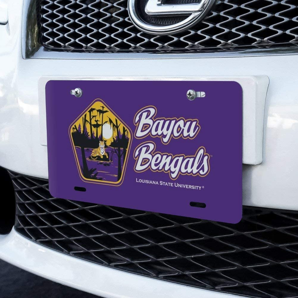 Graphics and More Bayou Bengals Pentagon Novelty Metal Vanity Tag License Plate