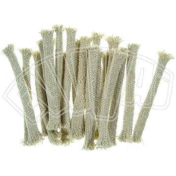 Set Da Giardino In Bamboo.15 Cm Set 20 Stoppini Per Lampada Torcia Bamboo Fiamma