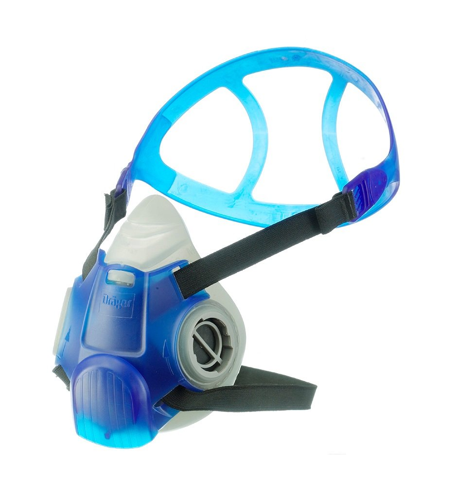 Dräger X-plore 3300 respirator mask | Size S | economical and reusable half face mask | NIOSH-approved