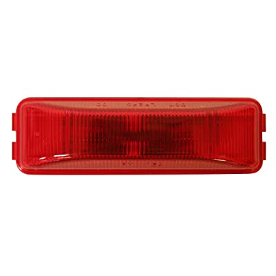 """Peterson Manufacturing 154R Red 3-13/16"""" Side Marker Light: Automotive"""