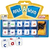 Junior Learning Roll a Word Develop Spelling and Word Formation Dice, Multi