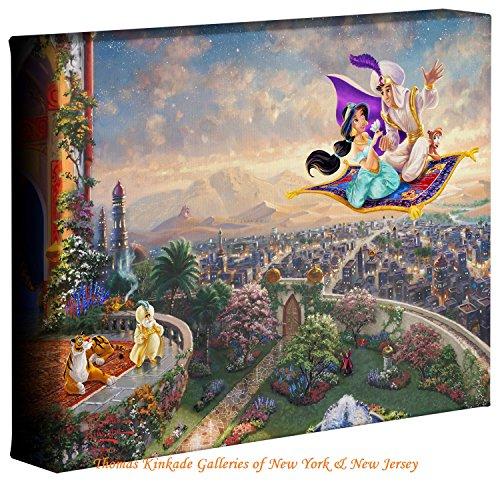 Aladdin - Thomas Kinkade Disney 8