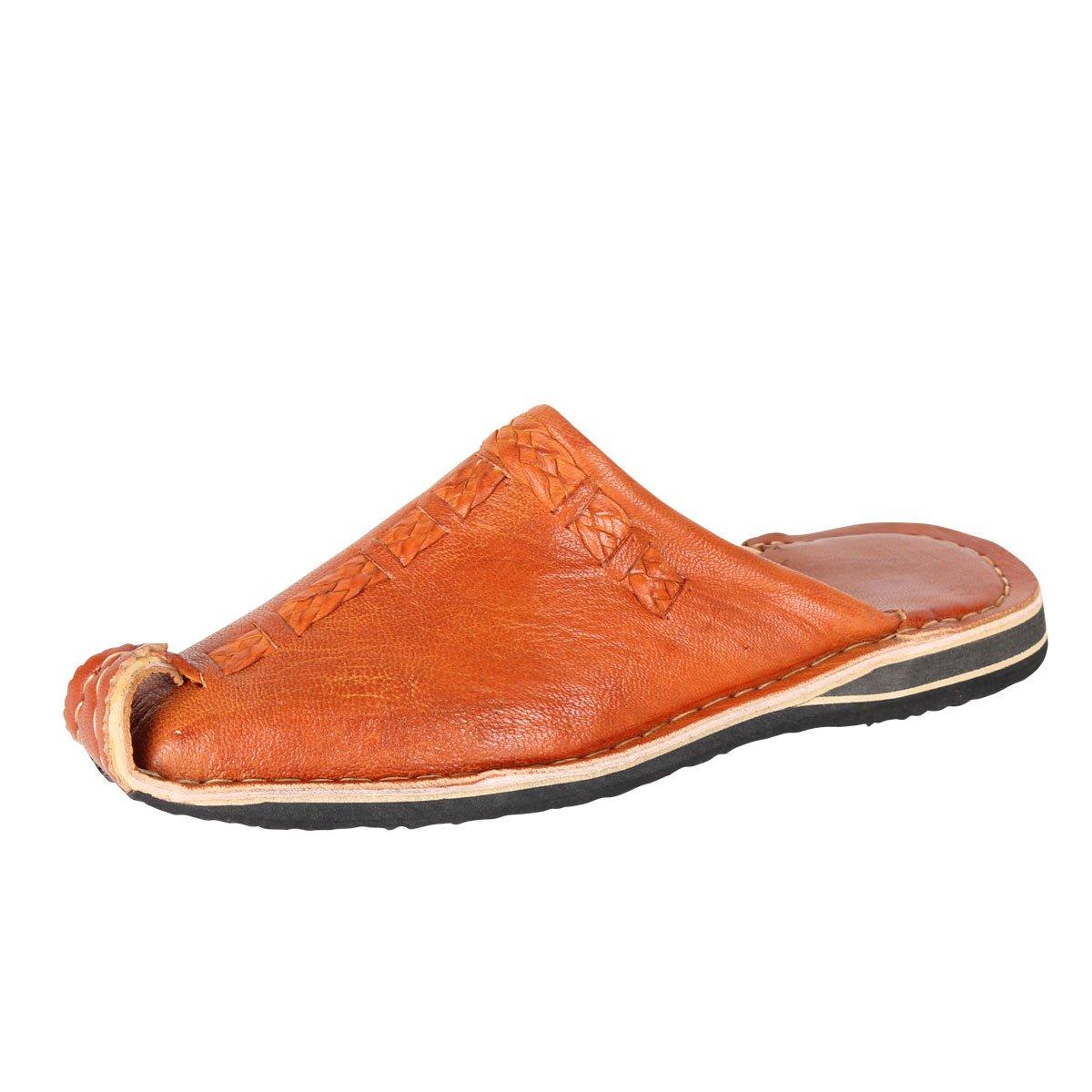 Albena Marokko Galerie Unisex Marokkanische Schuhe Leder Leder Leder Pantoffel Aladin Terra 633336