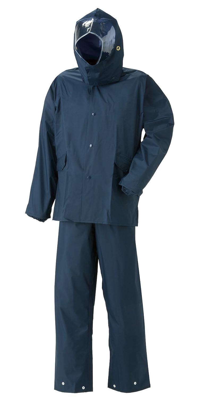 スミクラ ストリートシャワースーツ 全2色 全5サイズ 上下スーツ 鉄紺 LL 防水 収納袋付き 反射テープ付き [正規代理店品] B019RVQCWC LL|鉄紺 鉄紺 LL