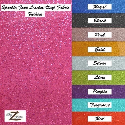 Amazon Com Vinyl Faux Fake Leather Sparkle Glitter Fabric