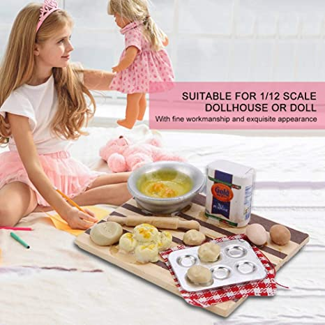 5Pcs 1:12 1:6 Dollhouse Miniature Popsicle Dolls Kitchen Food W4