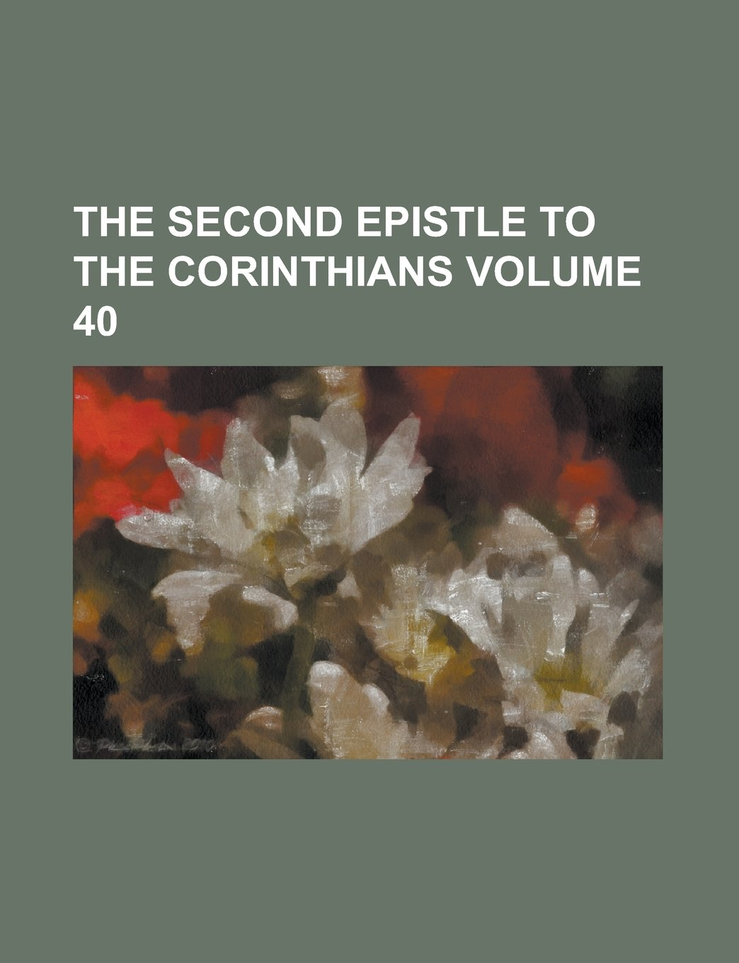 The second epistle to the Corinthians Volume 40 pdf epub