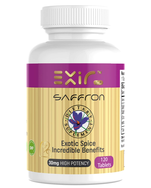 Amazon Com Exir Saffron Saffron Extract Dietary Supplements
