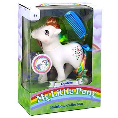 My Little Pony 35277 My Classic Rainbow Ponies-Confetti Collectible, Multicolour: Toys & Games