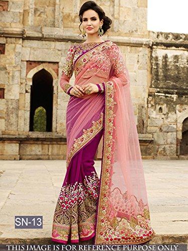 Delisa Fashion Ethnic Designer Bollywood Party Wear Pakistani Indian Saree tirupati by Delisa (Image #1)