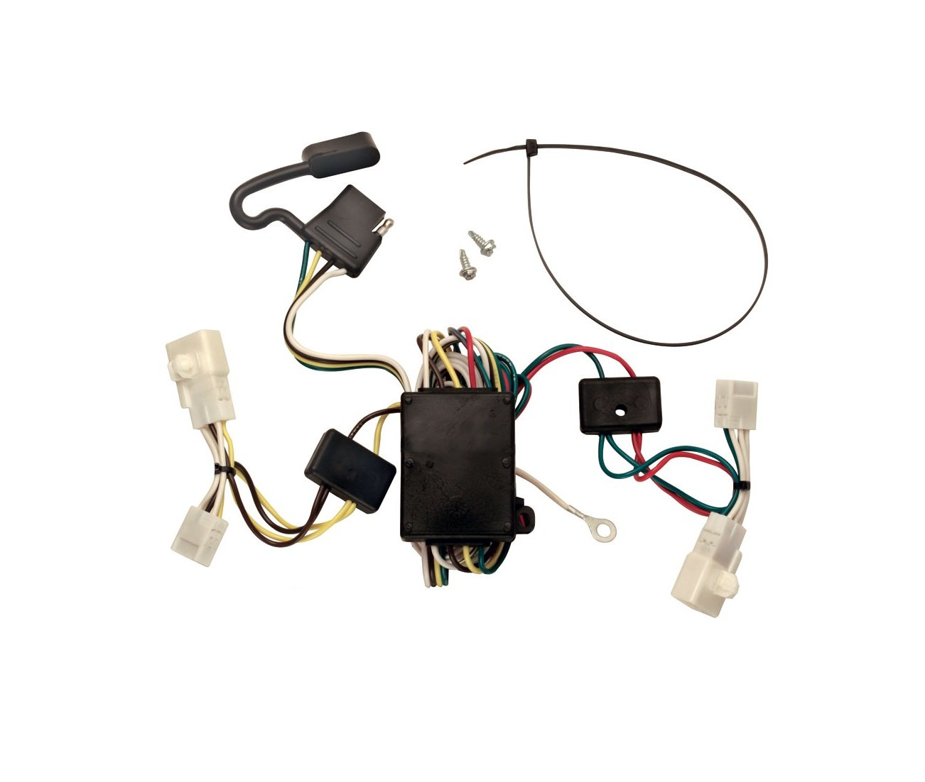 Tekonsha 118308 T One Connector Assembly With Converter Drawtite Tconnector Trailer Wiring Harnesses Harness Automotive
