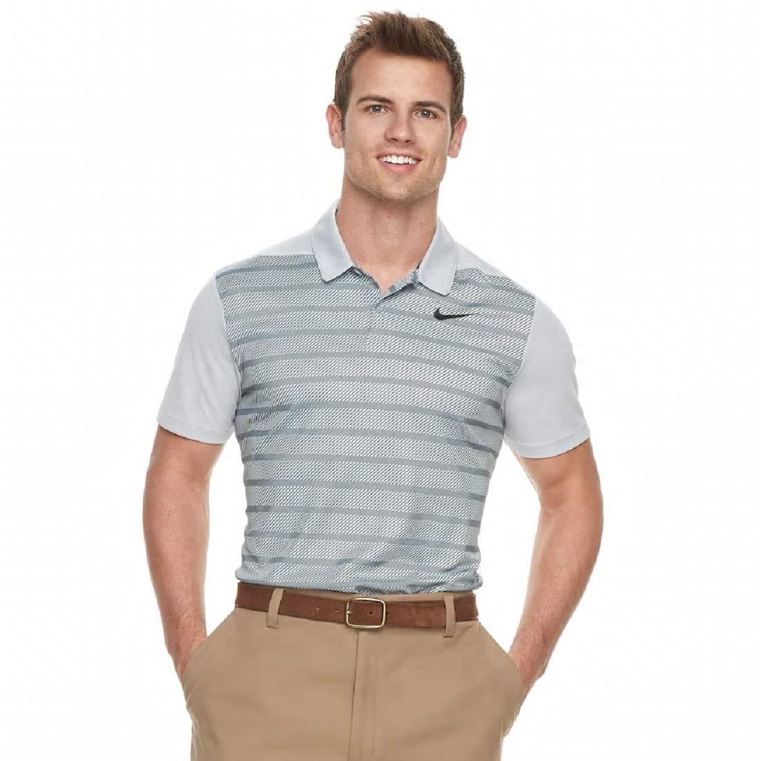 Nike - Polo de Golf para Hombre, diseño de Rayas, XXL, Wolf Gray ...