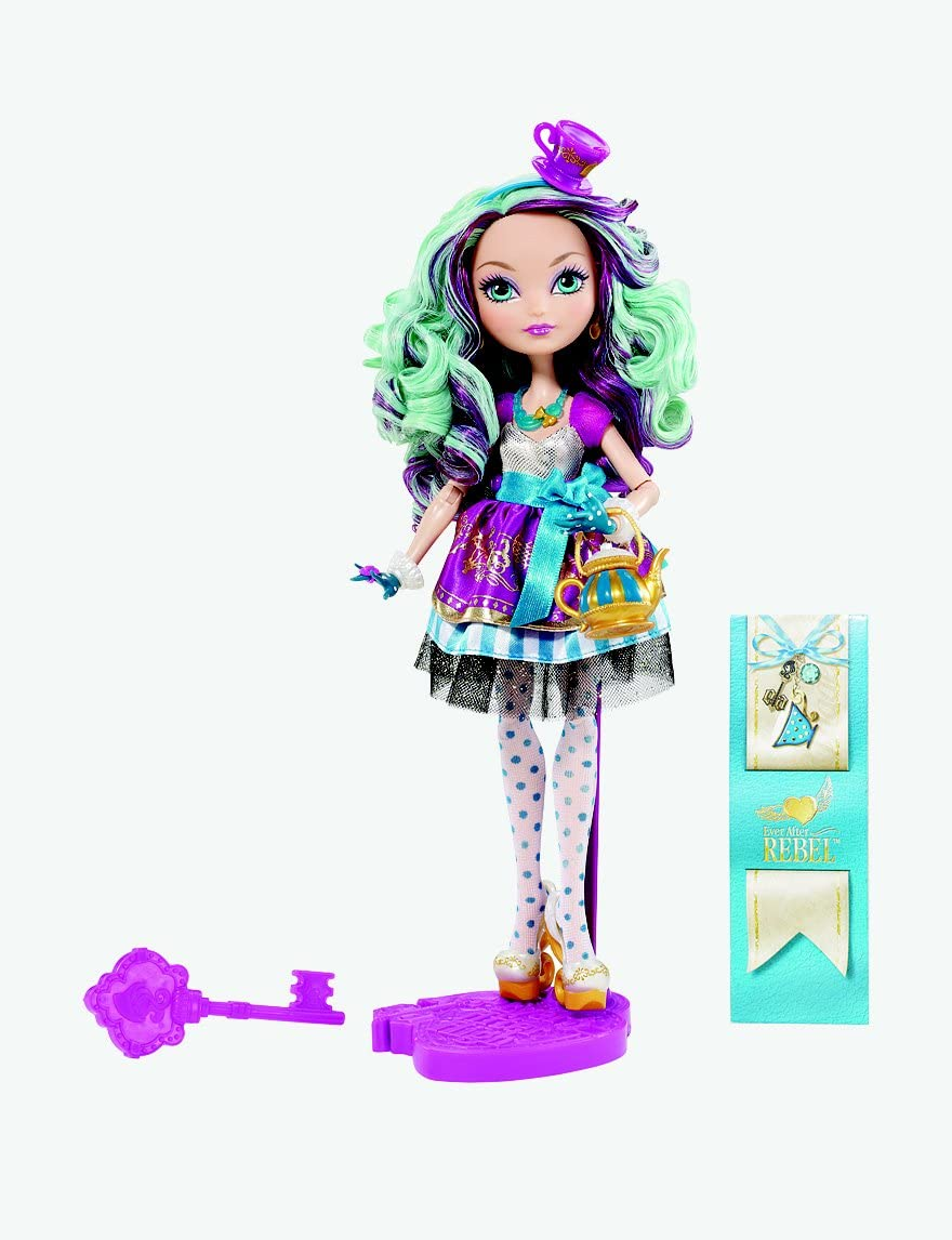 EVER AFTER HIGH DOLL ACCESSORIES 1ST CHAPTER MADELINE HATTER BLUE NECKLACE ONLY