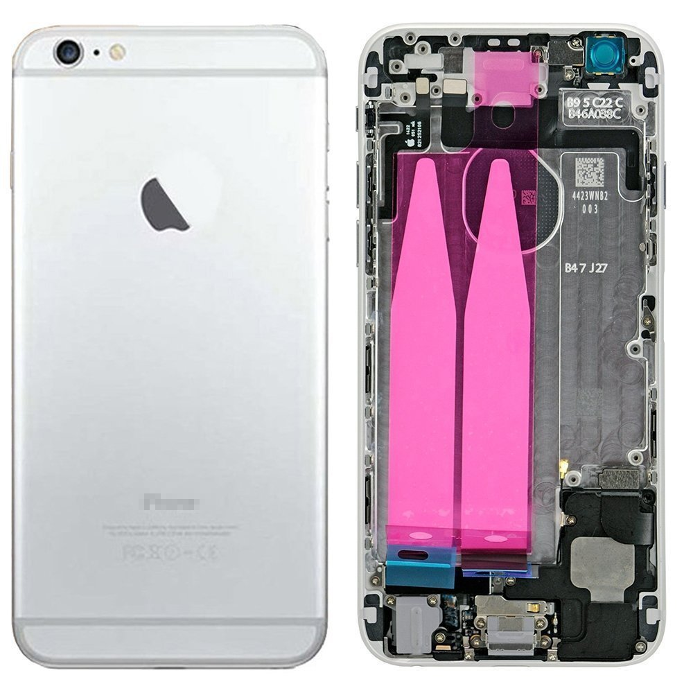 Amazon.com: For iphone 6 4.7 inch Full Assembly Back Cover Housing ...