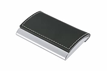 Wedo 2056654 Visitenkartenbox Practise Für Karten 95 X 60 Mm Schwarz Chrom