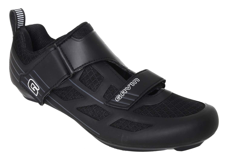 Gavin Triathlon Road Mesh Cycling Shoes Mens Womens