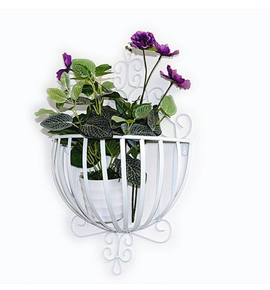 LBMhua Eisen Blumen-Rahmen Eisen DIY Wand Hängende Blume Rack Semi ...