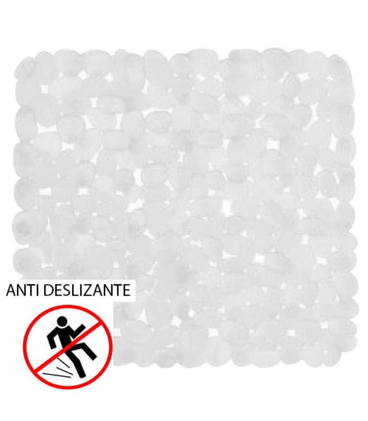 Agarre seguro de dise/ño elegante Alfombrilla antideslizante mDesign Evite el riesgo de ca/ídas en el ba/ño