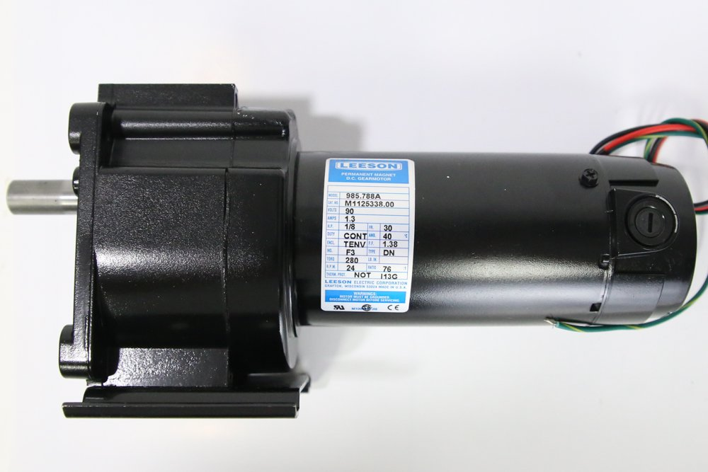 Leeson Umbrella Shuttle Motor 24 RPM  Replaces Haas # 32-1875 Tool Changer  Motor