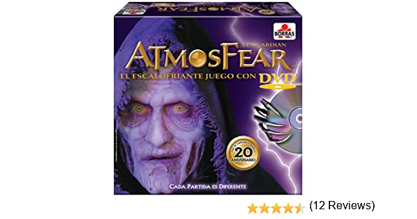 Educa Borrás 15120 - Atmosfear DVD 20 Aniversario: Amazon.es ...