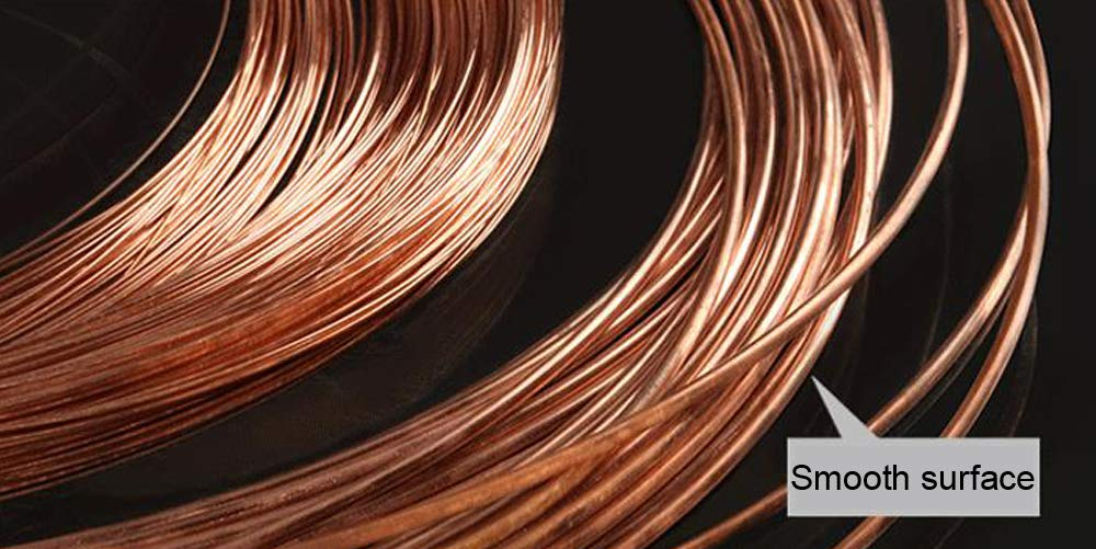 CynKen T2 Copper Wire 3mm Diameter,2M Length About 0.12 Diameter,6.56 Length